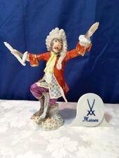 Meissen Figurine Conductor Monkey Orchestra 60001 Direttore Orchestra NEW
