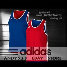 adidas NBA Tank T-Shirt Mens Reversible Punch Boxing Vest Climalite® 2in1 XL $80