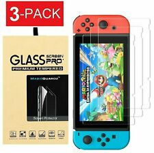 For Nintendo Switch Premium Tempered Glass Screen Protector (3-Pack)