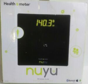 Scale Wireless Bluetooth Smart BMI Tracking Disappear Health O Meter NUYU
