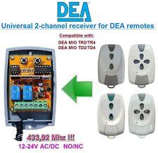 DEA MIO TR2/TR4, DEA MIO TD2/TD4 compatible universelle 2-canaux Récepteur