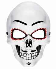MALE DAY OF THE DEAD MASK Voodoo Sugar Skull Skeleton Fancy Dress Mask 95707