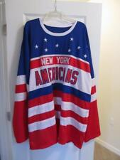 New York Americans Mergner Jersey Adult Size (See Measurements in listing 5x-8x)