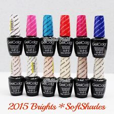 OPI Soak-Off GelColor BRIGHTS / SOFT SHADES / VENICE Collection 2015 Gel Polish
