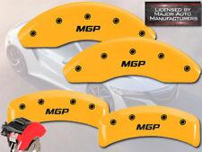 "2003-2011 Honda Element Front + Rear Yellow ""MGP"" Brake Disc Caliper Covers 4pc"