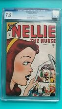 Nellie The Nurse 7 CGC 7.5 VF- Timely Comics 1947 Golden Age