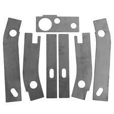 7 Frame Repair Rusted Shackle Weld Plate fit for 1986-1995 Jeep Wrangler YJ Rear