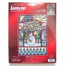 Janlynn Bonhomme de neige portée pour le étoiles Noel Kit point croix #003-0256