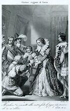 Cristina di Borbone-Francia e il figlio Francesco Giacinto di Savoia. 1863