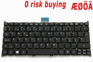 For Acer Aspire 725 756 S3-331 S3-371 NKI101701F Laptop Keyboard Nordic Swedish