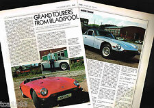 Old TVR Cars/Auto Article / Photos / Pictures:1600M/3000M