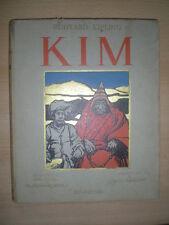 RUDYARD KIPLING KIM ED DELAGRAVE ILLUSTRE PAR FOUQUERAY