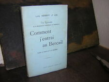 1898.comment j'entrai au Bercail / Herbert of Lea.BEnc