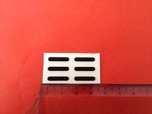 6x Rubber Feet Sony HP Toshiba Acer IBM Laptop new 1.5x0.3cm -722