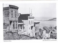 "*Postcard-""Telegraph Hill Historic District""-1940's @ *S. F. Landmark (A15-1)"