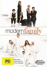Modern Family The Complete Third Season 3-Disc Set Region 4 DVD VGC