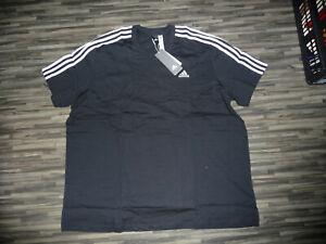 (3949) Adidas Herren - T Shirt - XXXL - NEU - schwarz