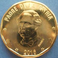 DOMINICAN REPUBLIC 1 PESO 2016 Dominicana Dominikanische Dominicaine Domenicana