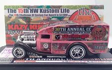 Blown Delivery Kazy Pink Custom 2016 HOT WHEELS Convention 1 Of 1