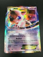 Mew EX ULTRA RARE 46/124 Pokemon BW Dragons Exalted NM Card TCG HOLO 2012