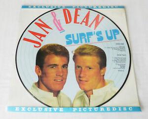 JAN & DEAN Surf's up HOLLAND PICTURE DISC LP EVEREST PD 83016 (1986) NEW-UNPL.