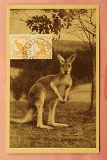 Dr Who 1947 Australia Kangaroo Pc Turramurra Cancel 150252