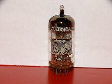 1 x 6AQ8/ECC85 Amperex Δ Bugle Boy Tube *Copper Posts*Foil D-Getter*