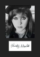 Kirsty MacColl #1 Signed A5 Mounted Photo Print - FREE DELIVERY