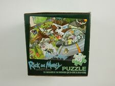 Loot Crate Exclusive/Adult Swim Rick and Morty 300 Piece Puzzle NEW