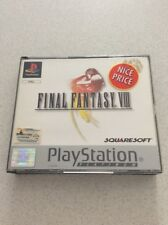 Final Fantasy VIII PlayStation 1 Console Game PS1 Complete PAL