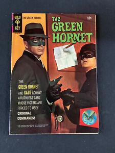 THE GREEN HORNET #1 !! GOLD KEY 1966 VAN WILLIAMS BRUCE LEE COMICS VG-VG Plus !!