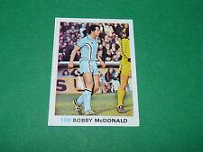 109 B. McDONALD COVENTRY FKS SOCCER STARS 1977-78 ENGLAND AGEDUCATIFS PANINI