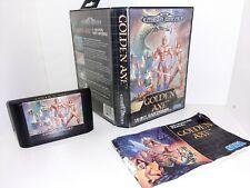 GOLDEN AXE  Sega Mega Drive komplett CIB PAL