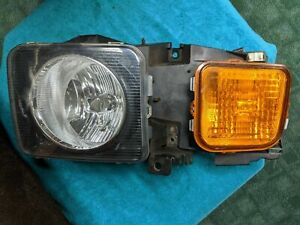 2006 - 2010   HUMMER H3 Head Light Assembly Driver Side - HU2502100