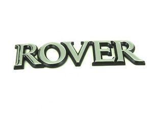 Genuine New ROVER BOOT BADGE Rear Emblem For 200 Series 1995-2000 214 216 218