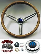"1968-1969 Charger Dart Coronet steering wheel MOPAR WALNUT 15"" Grant"