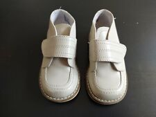 Baby Boy Tan Footmates Shoes, Size 5m