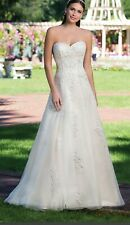 Sincerity wedding dress, 3923, size 14, shop sample, sand/gold/silver , £299.00