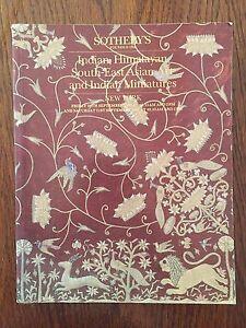 Indian Himalayan south-est Asian art and Indian miniatures - Sotheby's New York