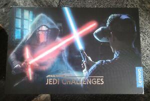 Lenovo Star Wars Jedi Challenges AR VR Headset, Lightsaber, Tracking Beacon Box