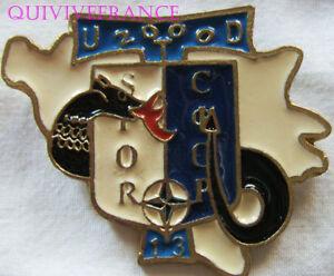 IN9591 - INSIGNE Division Salamandre, U.T.D. 2000 S.F.O.R, 13° Mandat, matriculé