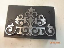 Printing Letterpress Printer Block Decorative Ornament Print Cut