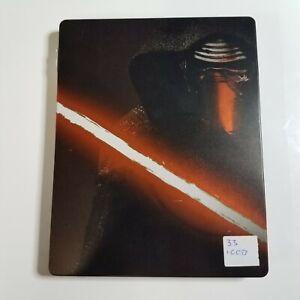 Star Wars: The Force Awakens (Steelbook)   Blu-ray Movie   Disney   Daisy Ridley
