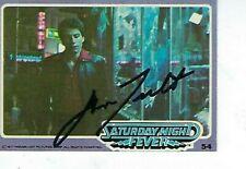 JOHN TAVOLTA SIGNED 1977 DONRUSS SATURDAY NIGHT FEVER #54 - TONY MANERO