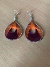 Unusual Woven Earrings Earrings - Really