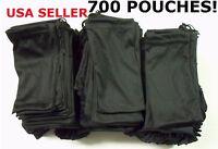 Cheap Bulk Lot 700 Black Micro Fiber Sunglasses Carrying Pouch Case Bag Sleeve