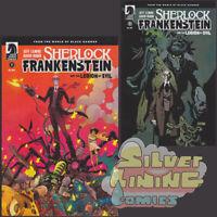 SHERLOCK FRANKENSTEIN & LEGION OF EVIL #1 Set of Two JEFF LEMIRE 1ST PRINT