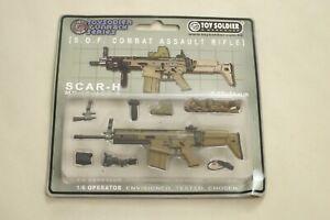 """TOY SOLDIER & WORKSHOP """"SCAR H MK17 MOD0"""" Set for 1/6th 12"""" Figures NEW"""