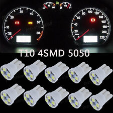 10X T10 501 Dashboard Speedo Gauge LED Light Bulb Lamp 12V Replace RED Blue Pink