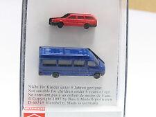 Busch 8302 2er Set VW Passat und MB Sprinter 1/160 - N Scale OVP (Z477)